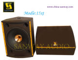 Alta qualità Powered Speaker, Stage Monitor Professional Loudspeaker, sistema acustico di PRO Audio (15XT)