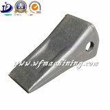 Dentes de aço da cubeta do forjamento da fonte de China para a máquina escavadora