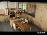 Welbom amerikanischer traditioneller festes Holz-Küche-Schrank
