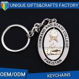 Keychain rotante metallo per l'anello chiave del supporto dei regali promozionali