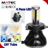 Linterna H7 de la linterna 80W LED del kit 3000k 4300k 8000k del precio LED de Manufactural