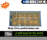 Wellcampのプレハブの容易な折る容器のホーム