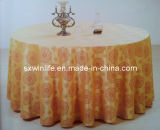 Pano de tabela extravagante do jacquard da alta qualidade para Hotel&Banquet (WLTC001)