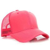عامة 6 لون بايسبول شبكة غطاء جلد شحّان قبعة