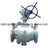 Cast Steel 600lbs Flanges End Ball Valve