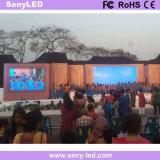 Im Freien Innenstadium, das Schaukasten LED-Bildschirm mit druckgießenschrank bekanntmacht