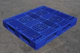 Resistente escolhir a pálete plástica enfrentada 1200X1000mm para o armazenamento de cremalheira