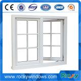 Hochleistungshurrikan-Beweis-Aluminiumflügelfenster-Fenster mit Querbalken