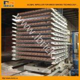 La salle de séchage de brique à une seule couche de dessiccateur de chambre de brique d'argile