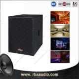 CD-15 casella esterna professionale dell'altoparlante del DJ Subwoofer da 15 pollici