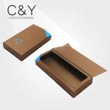 Boîtes-cadeau de papier de nourriture d'or pour le module de chocolat