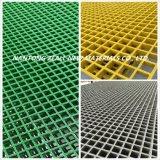Drain d'étage de fibre de verre râpant avec la résistance chimique
