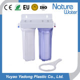 2 Stage Of water Of filter of with Of clear and White Of housing-1