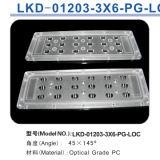 LED Street Light/Lamp Module Lens met 18 (3*6) LED van XPE/Xte 3535 3030 (Polarized Light)