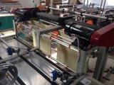 Bolso de compras plástico del bolso de la camiseta del Doble-Color de alta velocidad automático que hace la máquina