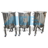 санитарный подвижной бак для хранения 100L с рицинусом (ACE-CG-R4)