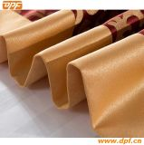 Подгонянный полиэфиром 100% шарф кровати гостиницы (DPF2667)