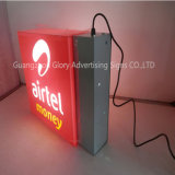 Vuoto Forming Round LED Light Box per Outdoor Advertizing