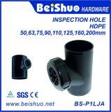 Pipe convenable convenable de trou d'inspection de conduite d'eau