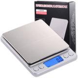 500g/0.01g imperméabilisent l'échelle de nourriture d'échelle de pondération de bijou d'acier inoxydable