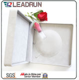 مخمل [بو] جلد مجوهرات هبة تخزين تعليب بلاستيكيّة حل سوار عقد صندوق ([يس31])