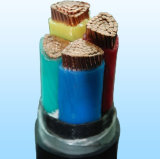 gepanzertes XLPE kupfernes Energien-Isolierkabel des Stahlband-0.6/1kv