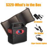 Générateur solaire portatif traité 150wh de Soultion d'énergie solaire pour se déplacer/urgence