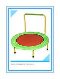 Складной Trampoline пригодности диаметра 40-Inch с штангой стабилности