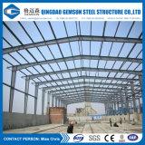 中国の供給プレハブによって設計されているサンドイッチパネルの鋼鉄小屋