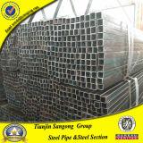 Cuadrado de acero de la estructura de ASTM A53 y tubos huecos rectangulares de la sección