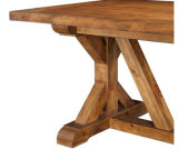Wood solido Vintage Loft Table con Popular