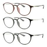 Optische Frame van het Oogglas Eyewear van Ultem van de manier het Plastic met Tempel 8003 van de Vezel van de Koolstof