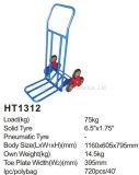 Caminhão de mão da escada Ht1312/trole de escalada da mão