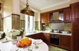 Mobília contínua personalizada Yb1706127 da HOME do gabinete de cozinha de Woood