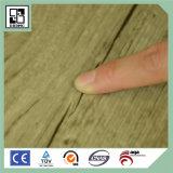 Suelo de madera del plástico de vinilo del PVC del grano