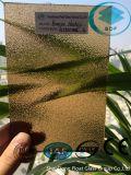 세륨, ISO (3-8mm)를 가진 Nashiji 청동색 장식무늬가 든 유리 제품