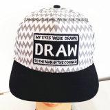 Chapéu bordado remendo do camionista do chapéu da forma da cidade do tampão de Hip-Hop do chapéu do chapéu do teste padrão