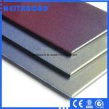 PVDF que reveste o painel composto de alumínio de madeira
