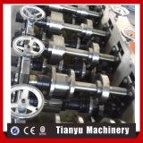 Hydraulischer Ausschnitt vollautomatische Furring Kanal-Rolle, die Maschine bildet