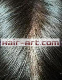 Cabelo humano de 100%/laço & Toupee injetado/coroa natural do cabelo