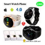Téléphone intelligent de montre avec le moniteur du rythme cardiaque (K88S)