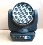 19PCS X12W Osram LEDのビーム&Zoomの移動軽いヘッド洗浄効果ライト