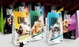 Sac d'aliments pour chiens, produit personnalisé par sac de l'animal familier pp d'usine de sac de la Chine pp