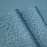 Normales Oberflächenchemiefasergewebe PU-Leder für das Beutel-Schuh-dekorative Verpacken