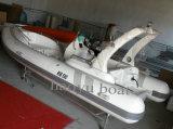 19FT/5.8m steifes aufblasbares Boots-Rippen-Boots-Luxuxboot mit Cer, Hypalon oder Belüftung-Fischerboot für Verkauf