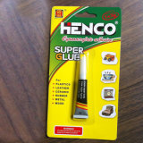 Bond rápido Super Glue en Aluminium Tube 3G/Tube