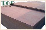 1220*2440 (4*8) 9/12/15/18mm rotes grünes Brown-schwarzes Marinefurnierholz für Aufbau mit WBP Kleber