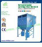 Colector de polvo de cartucho para limpieza industrial de aire
