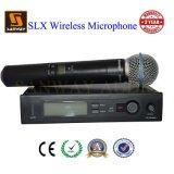 Микрофон UHF Karaoke серии Slx беспроволочный, беспроволочный микрофон Lavalier
