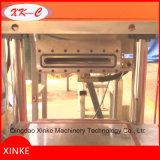 Molde automático da areia que faz a máquina na fundição
